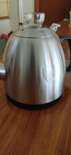 心好(xinhao)电热水壶 304不锈钢烧水壶 智能全自动上水茶壶 烧水快电茶炉XH-QZD-Q1 1L电水壶黑色 晒单图