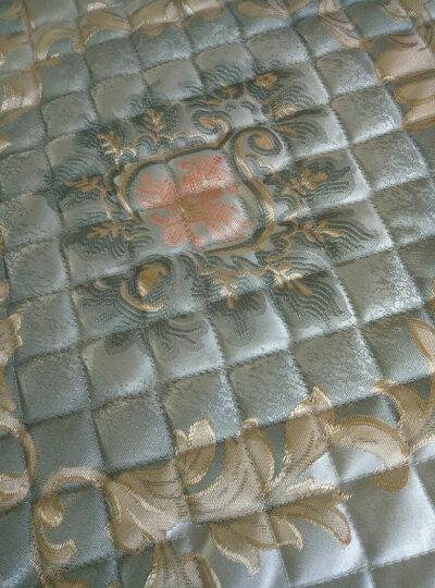 钟爱一生沙发垫套装四季沙发套罩全包坐垫子欧式布艺沙发巾防滑盖布通用仿亚麻组合沙发 绿荫 扶手巾45*90+15三面花边 晒单图
