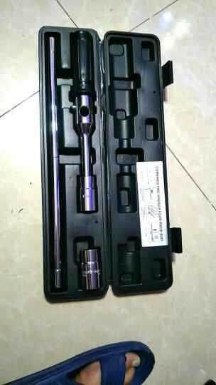 酷莱普(KULAIPU) 组合十字轮胎扳手 维修换胎工具  省力套筒扳手修车工具 十字架扳手3件套  KLP-005 晒单图