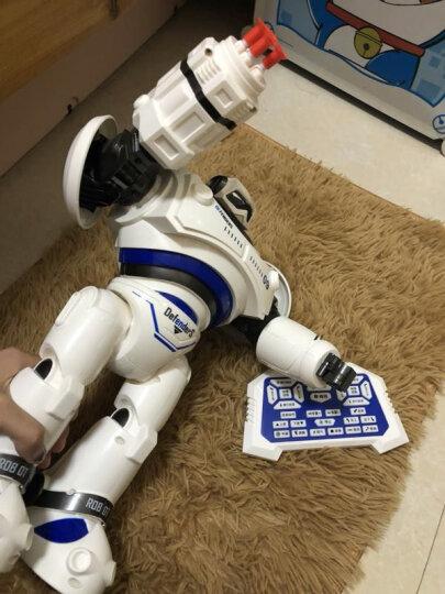 诺巴曼2019机械战警儿童玩具男孩玩具女孩1-3-6岁以上益智玩具宝宝婴儿小孩幼儿早教机智力玩具 5088黑色-大型35cm机械战警 晒单图