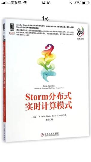 Storm分布式实时计算模式 晒单图