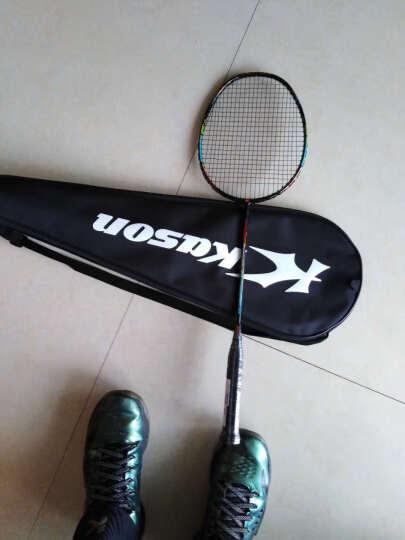 凯胜kason羽毛球拍单拍全能系列全碳素训练拍男女通用新手入门拍B110 K210 黑色 晒单图
