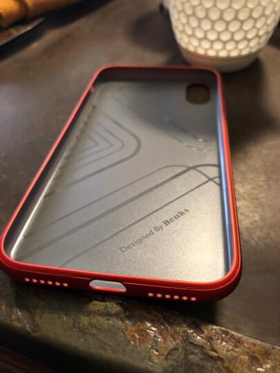 邦克仕(Benks)苹果iPhoneX手机壳保护套 苹果X防摔保护壳 iX全包软边硬底保护 防滑抗指纹系列 红色 晒单图