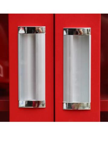 金篆(JINZHUAN) 微型消防站专用柜消防柜工具柜消防器材柜应急消防箱展示柜物业柜 1800*850*390通玻标准消防器材套餐 晒单图