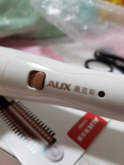 ?奥克斯(AUX) 卷直两用卷发棒 夹板卷发器 直板夹直发棒卷发神器拉直板电夹板烫发器迷你陶瓷不伤发 三合一(白色) 晒单图
