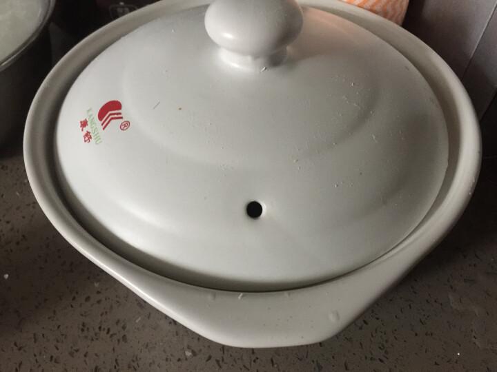 康舒砂锅三件套装 陶瓷煲 汤煲 煲汤粥煲 炖锅土锅汤锅 石锅沙锅 黑色4.3L+2.4L+0.6L炖煲 焖锅砂锅三件 晒单图