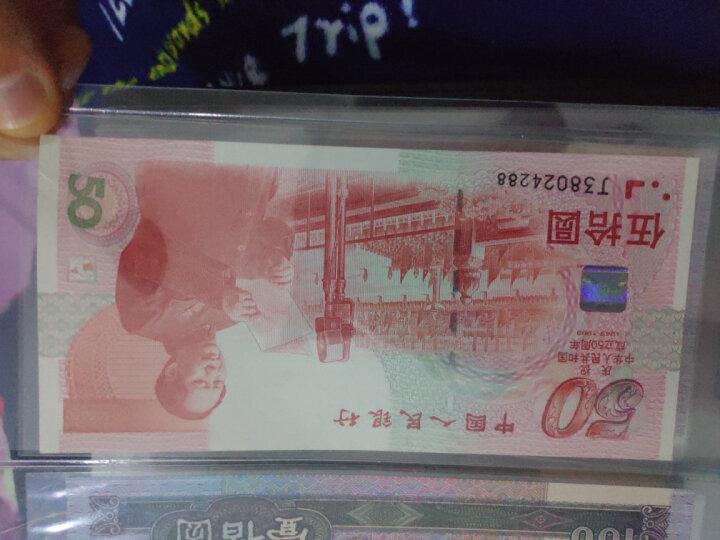 【甲源文化】中国2015年100元航天钞/10元航天纪念币 航天题材钱币收藏套装 全新品相 100元航天钞 10张连号 晒单图