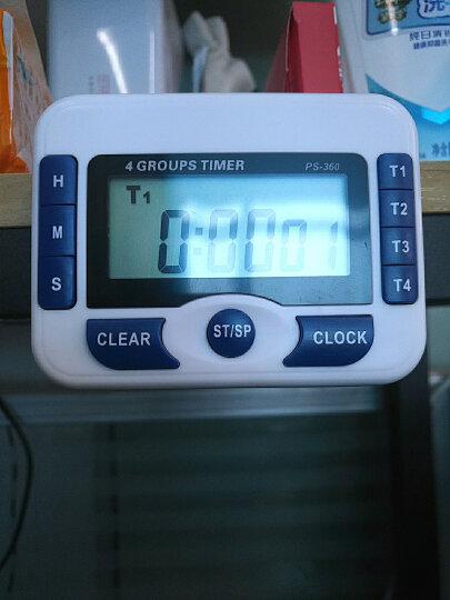 追日牌四通道正倒数计时器 厨房定时器 时钟 提醒器 PS-360  晒单图