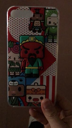 张小盒 iPhone7/8Plus手机壳 苹果7/8卡通立体公仔彩雕保护套 全包软边二合一 招财吉猫 7Plus 晒单图