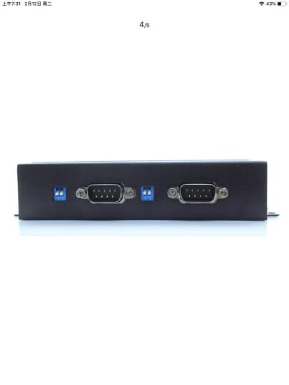 有人(LonHand) 工业级串口服务器2口232/485/422转以太网模块USR-N520 晒单图