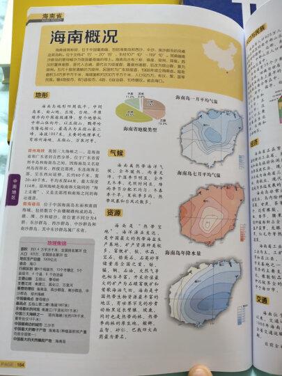 2021年 中国地图册+世界地图册(学生、家庭、办公 地理知识版 全新2册套装) 晒单图