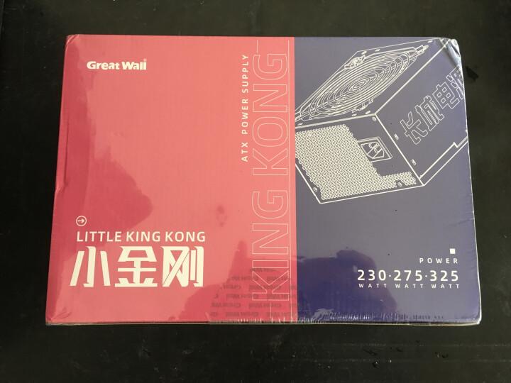 长城(GreatWall)额定230W 网星ATX-3000+ 电源(12CM风扇/宽幅/双磁放大/智能温控/3C认证/3年保) 晒单图
