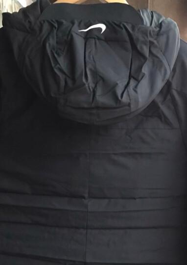 NIKE耐克男装 2018冬新款运动休闲连帽保暖舒适羽绒服轻薄棉服外套928834-010 AR4502-010 L 晒单图