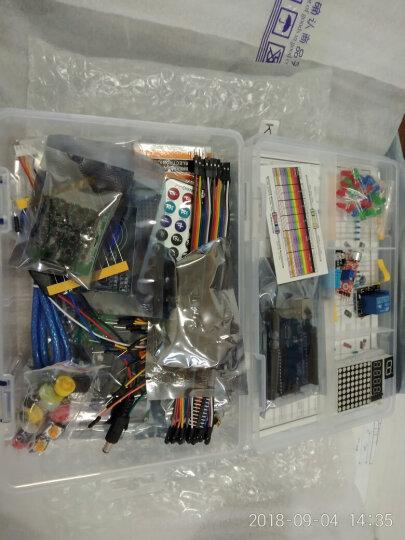 酷道(MiRoad) arduino uno r3入门套件 适用于arduino开发板AVR学习套件 UNO R3单片机K6入门套件45合1 晒单图
