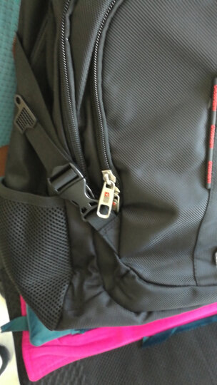 CROSSGEAR【加密防盗】背包15.6英寸/17.3英寸笔记本电脑包书包大容量双肩包男商务旅行包 CR-9003XL黑色 晒单图
