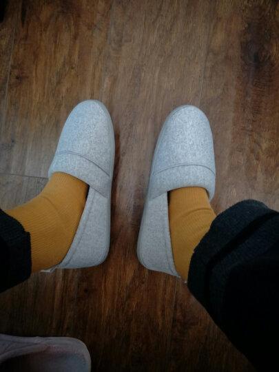 十月结晶  孕妇防滑软底拖鞋/家居包跟鞋/产前产后舒适月子鞋   产后修复 彩棉灰色38/39 晒单图