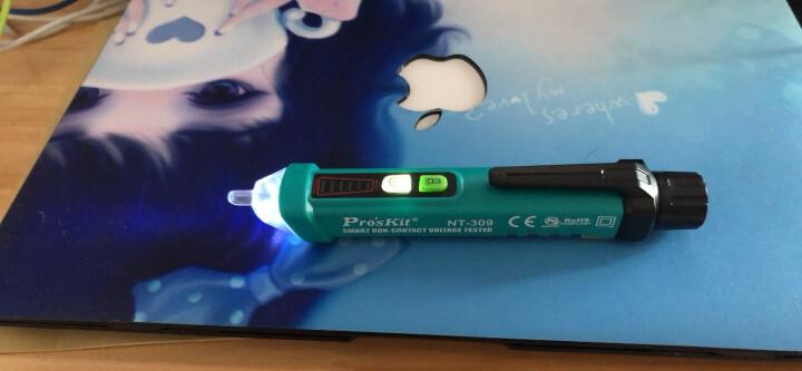 宝工(Pro'skit) NT-306 非接触验电笔 测电笔 感应电笔 晒单图