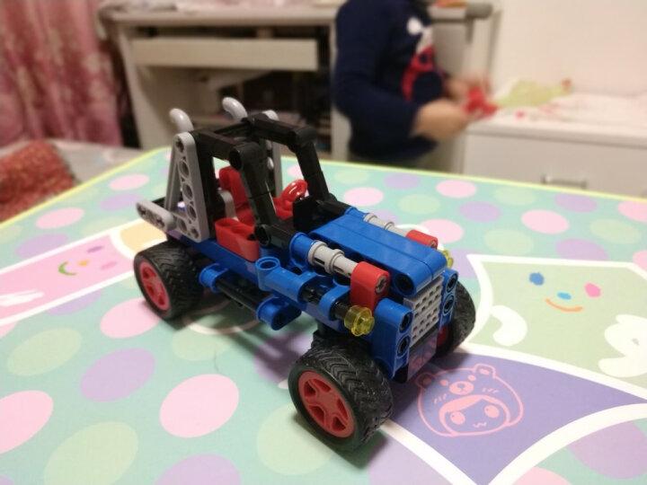 邦宝小颗粒拼插积木儿童拼装男孩玩具车-极速酷跑6960 晒单图