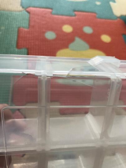 拓为(Tactix) 320006 18格塑料整理盒 收纳盒小收纳箱柜 晒单图