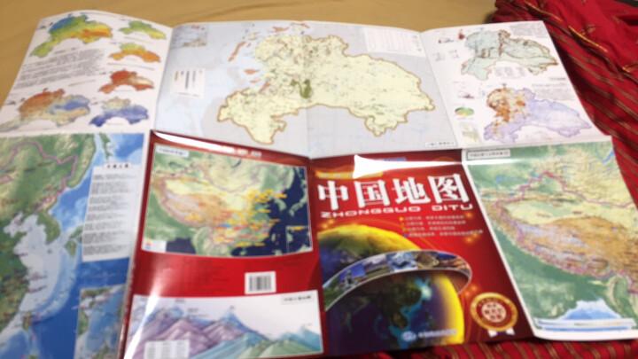 中国地图(大幅面 防水撕不烂地图 折叠图) 晒单图