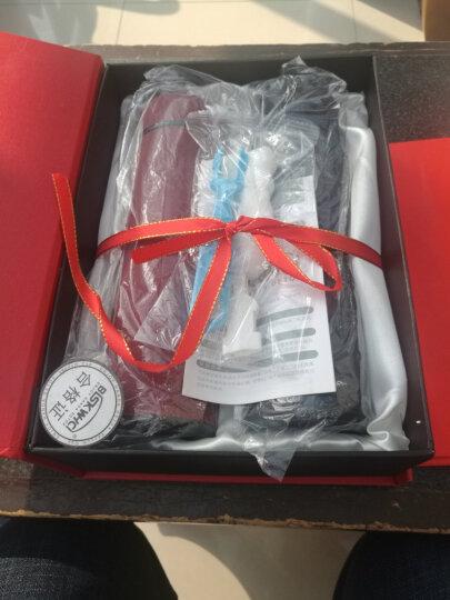 情侣保温杯男女士 304不锈钢套装礼盒1314一对真空水杯子对杯:黑红情侣杯 黑白情侣保温杯 黑白套装(礼盒包装+手提袋) 晒单图