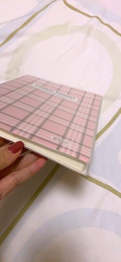 晨光(M&G)布艺系列B5/100页蓝色胶套软抄本记事日记笔记本子 单本装APY4F056 晒单图