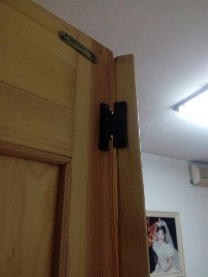 汇乐斯 塑料弹簧铰链 塑料橱柜门小合页 平面铰 门边防尘条合页 晒单图