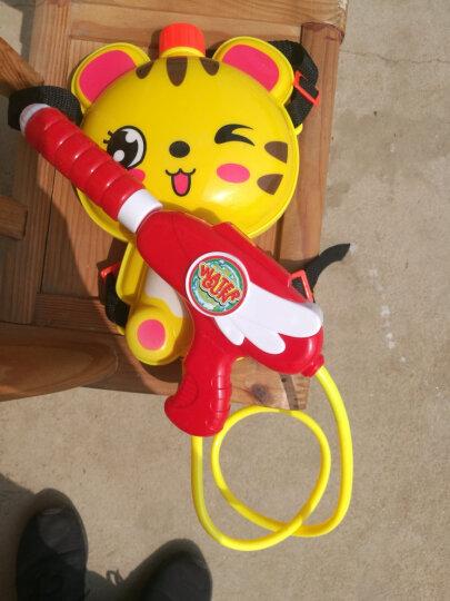 爸爸妈妈(babamama)儿童背包水枪玩具 夏天户外沙滩戏水 双肩背水壶高压喷射水枪 B2003老虎 晒单图
