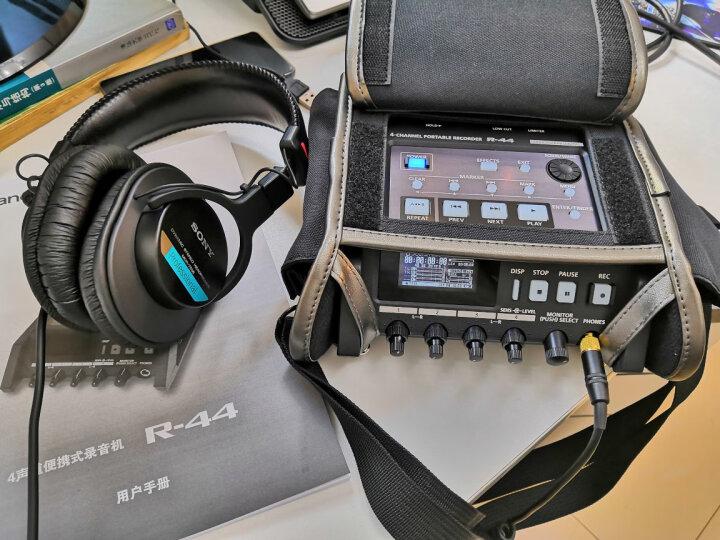 罗兰 Roland 逻兰 R44/E 录音机调音台 兼容 森海416 RODE罗德 麦克 套装+森海416+线+猪笼+7506耳机+罗德碳杆 晒单图