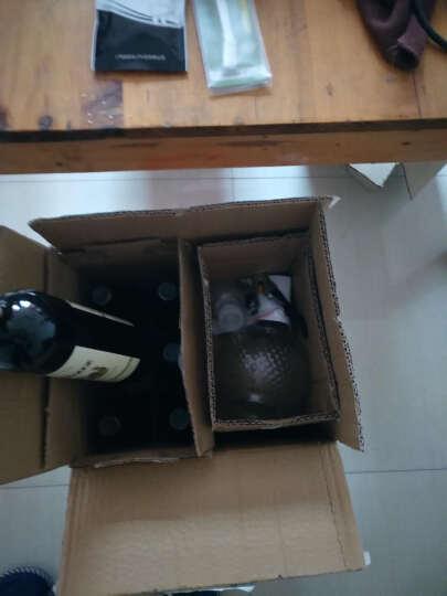 送醒酒器2酒杯 西班牙原酒进口红酒干红葡萄酒整箱6支装特价批发六瓶过年送礼 索尔6支+醒酒器+2杯子+2酒具 晒单图