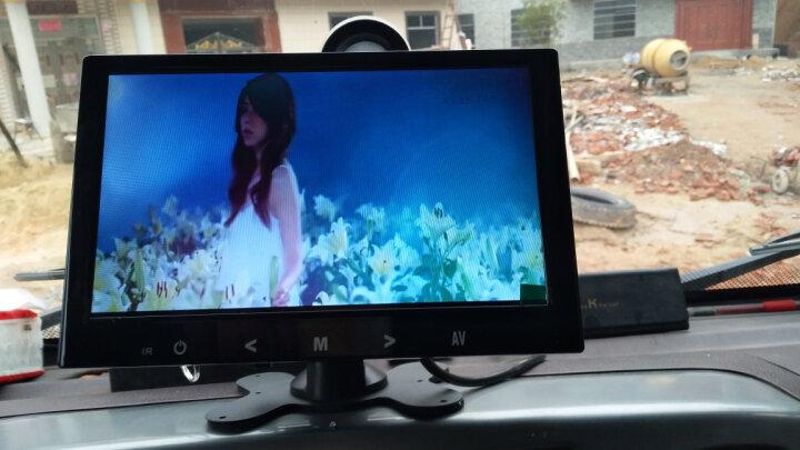 邦道尼 货车倒车影像系统24V客车卡车工程车大巴大卡可倒车雷达一体机可视高清夜视12v 7寸后视镜mp5功能屏+高清货车摄像头 晒单图