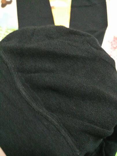 米度丽 【两件九折】孕妇裤袜孕妇连裤袜秋季连体袜托腹秋冬打底袜踩脚秋款孕妇袜子裤袜秋冬季 320D连脚-黑色 均码 晒单图