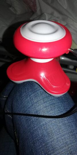 荣跃 按摩器震动小型电动三角按摩器全身便携式 玫红 晒单图