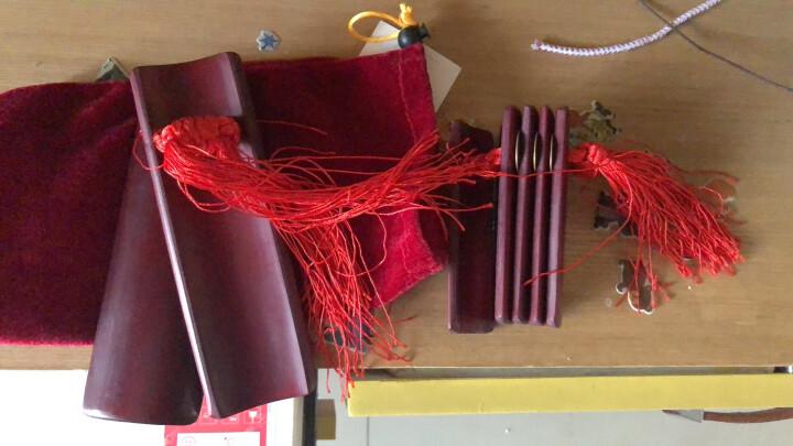 相思鸟(LOVEBIRD) 快板竹板 成人儿童快板 5片竹子响板 XS6001 中号儿童红色 晒单图