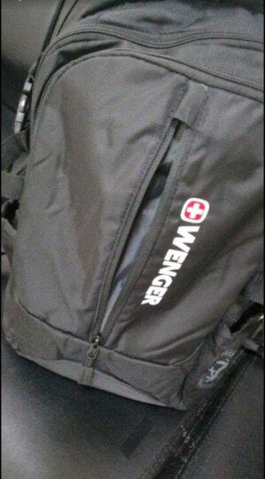 瑞士军刀威戈Wenger双肩包 商务笔记本电脑包14英寸双肩背包男女书包 黑色S859109045 晒单图