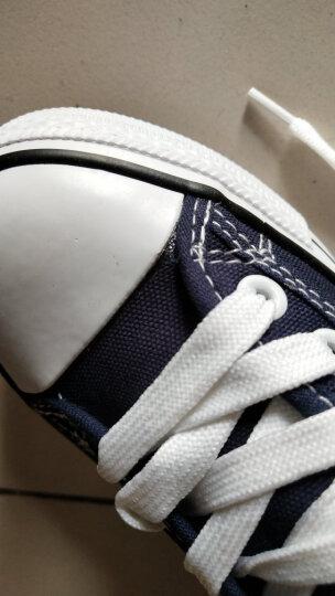 人本帆布鞋女厚底布鞋松糕跟小白鞋牛仔休闲鞋女百搭学生1992鞋子 浅兰 38 晒单图