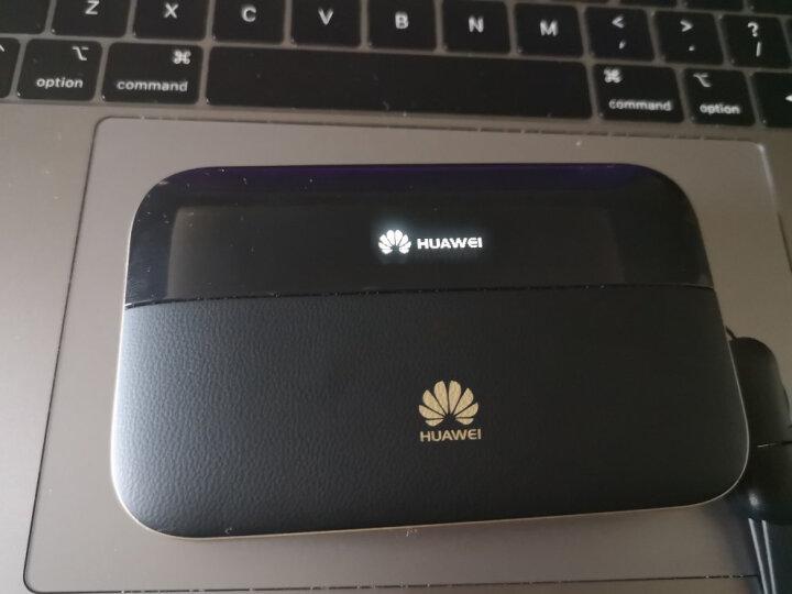 华为随行wifi3移动4G无线路由器E5576随身mifi电信联通全国无限流量出国商务办公4G不限速 E5771绛紫灰 三网4G+国外4G+天际通 晒单图