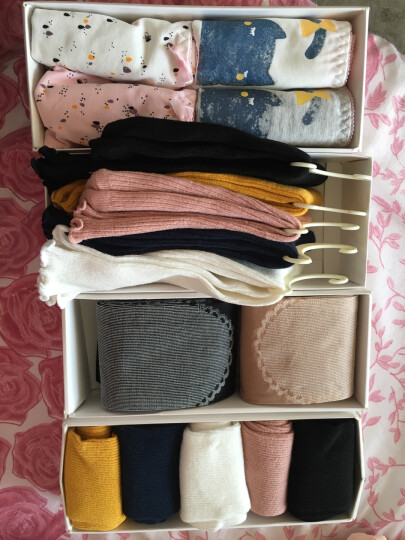 俞兆林堆堆袜 女士袜子纯棉秋季新品中筒女袜 木耳花边5双装 晒单图
