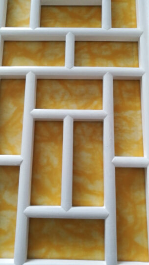 仿古门窗实木花格电视背景墙玄关隔断定做中式屏风吊榆木雕实木家具吊灯箱外箱窗户 其他花型200*55 晒单图
