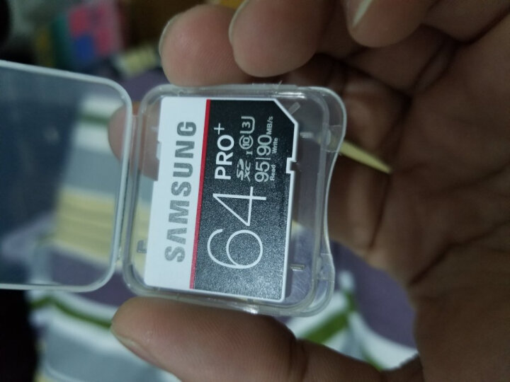 三星(SAMSUNG)64GB SD卡 U3 C10 4K PRO专业版+ 读速95MB/s,写速95MB/s 专业相机伴侣,捕捉精彩瞬间 晒单图