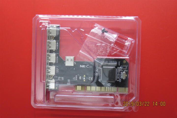 魔羯(MOGE)PCI转USB2.0卡(6口) MC1015 瑞萨(NEC)芯片外 外5口内1口 晒单图