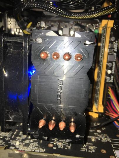 安钛克(Antec)战虎A40战斗版 CPU散热器 送导热硅脂硅胶(纯铜4热管/9cm风扇/LED蓝光风扇/电脑主机箱显卡风冷 晒单图