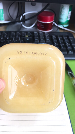 阿娣 甄选东北黑蜂椴树蜜雪蜜农家自产野生蜂蜜天然形态未结晶白蜜500g*2 晒单图