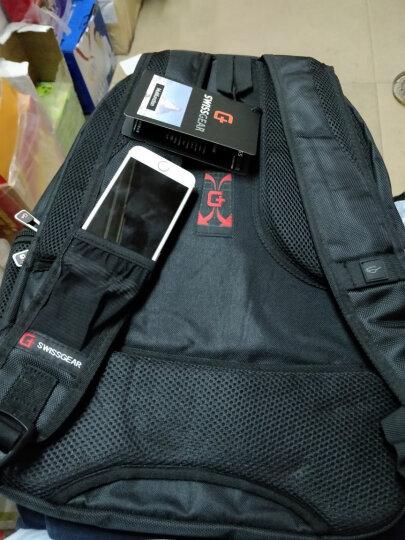 SWISSGEAR大容量背包商务14英寸/15英寸电脑包男女 SA-9837 宝蓝色 晒单图