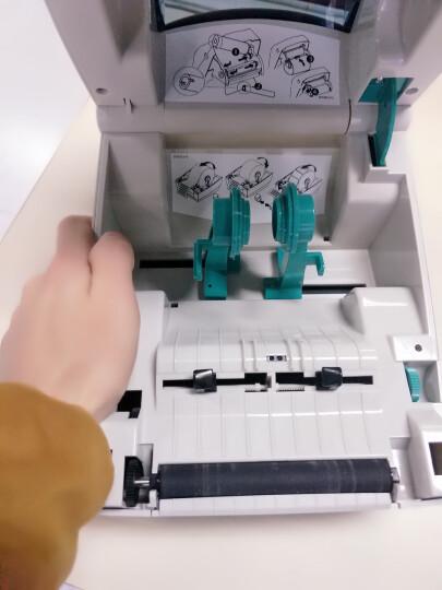 斑马(ZEBRA)GK888t条码打印机不干胶标签打印机 热敏快递电子面单多功能打印 GK888t官方标配 晒单图