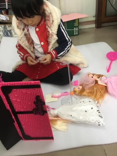 唯米 儿童芭比娃娃公主婚纱大礼盒洋娃娃女孩美人鱼套装玩具生日礼物 圣诞节 豪华款F 晒单图