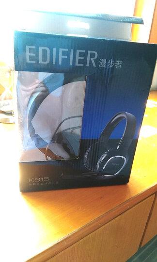 漫步者(EDIFIER)K815 高音质立体声通讯游戏耳麦 电脑耳机 游戏耳机 绝地求生耳机 吃鸡耳机 黑色 晒单图