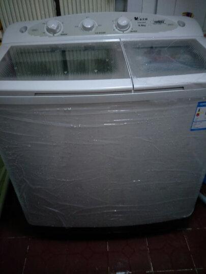 小天鹅(LittleSwan)洗衣机半自动  品牌电机 3C钢化玻璃盖板 9公斤大容量 双桶双缸 TP90-S968 晒单图
