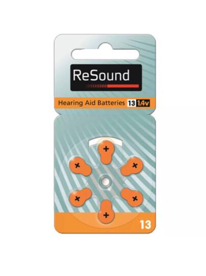 瑞声达 助听器心意MAT70/80老年人无线耳背式3通道6频段 自动降噪 配件A13电池 晒单图