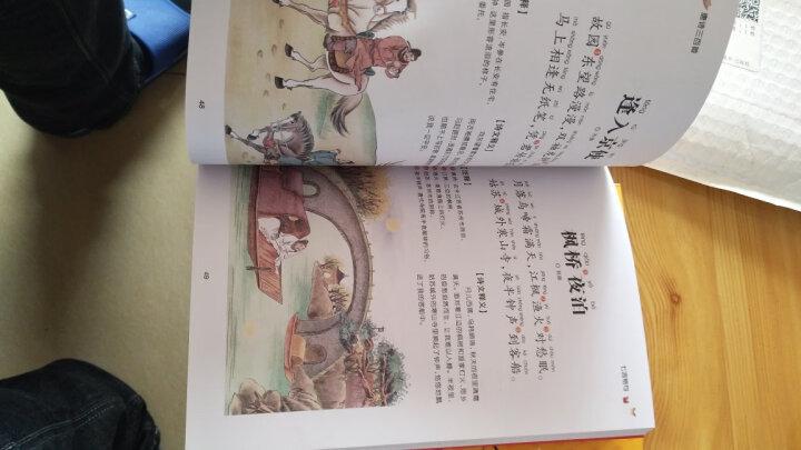 唐诗三百首彩图注音版儿童文学读物小学生背古诗词300首幼儿早教课外书读物儿童 晒单图